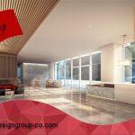طراحی داخلی لابی