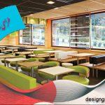 طراحی داخلی فست فود