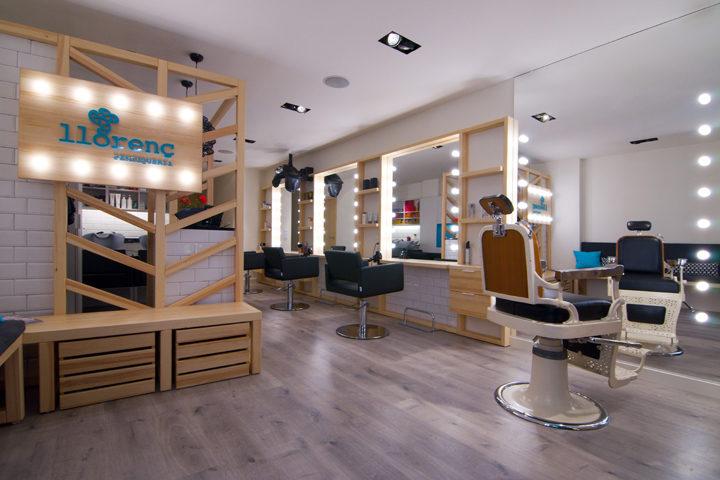 طراحی داخلی آرایشگاه زنانه