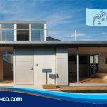 خانه ای از جنس آلومینیوم