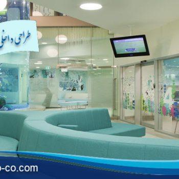طراحی داخلی بیمارستان کودک