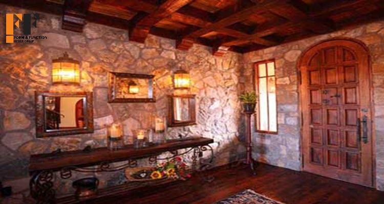 طراحی داخلی سبک اسپانیایی