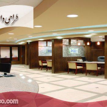 طراحی داخلی بانک