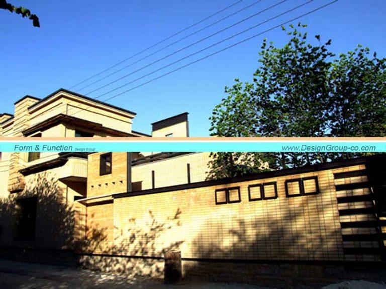 پروژه طراحی مسکونی سپهر زعفرانیه