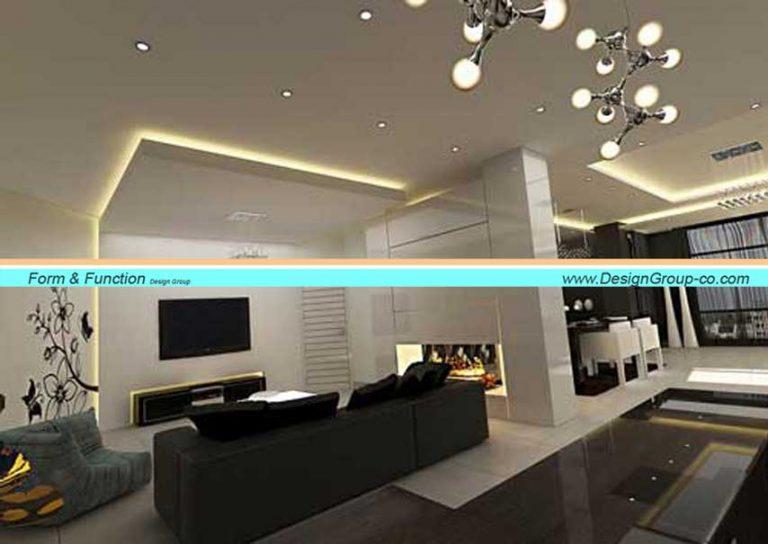 طراحی داخلی آپارتمان بلوار آفریقا