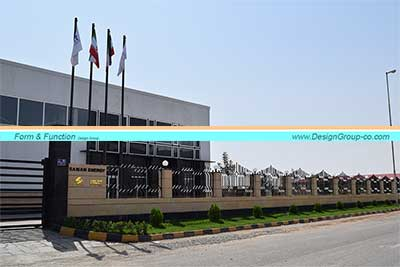 پروژه ساخت کارخانه شرکت سامان انرژی