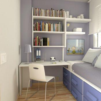 طراحی داخلی اتاق مطالعه