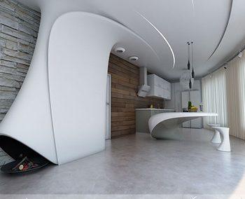 دکوراسیون داخلی ساختمان با کناف