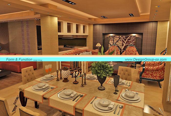 پروژه طراحی بازسازی و داخلی واقع در شیخ بهایی
