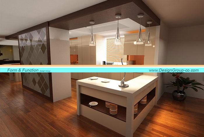 پروژه بازسازی و طراحی داخلی آشپزخانه در ارومیه