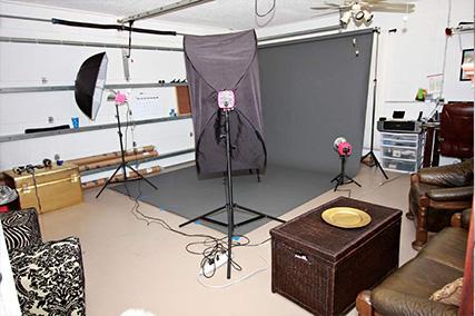 طراحی داخلی آتلیه عکاسی