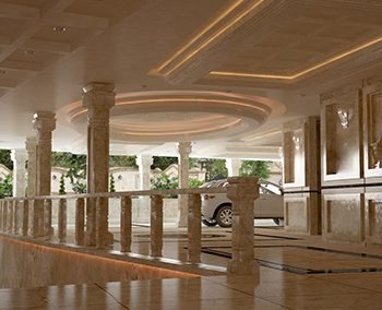 طراحی داخلی پارکینگ