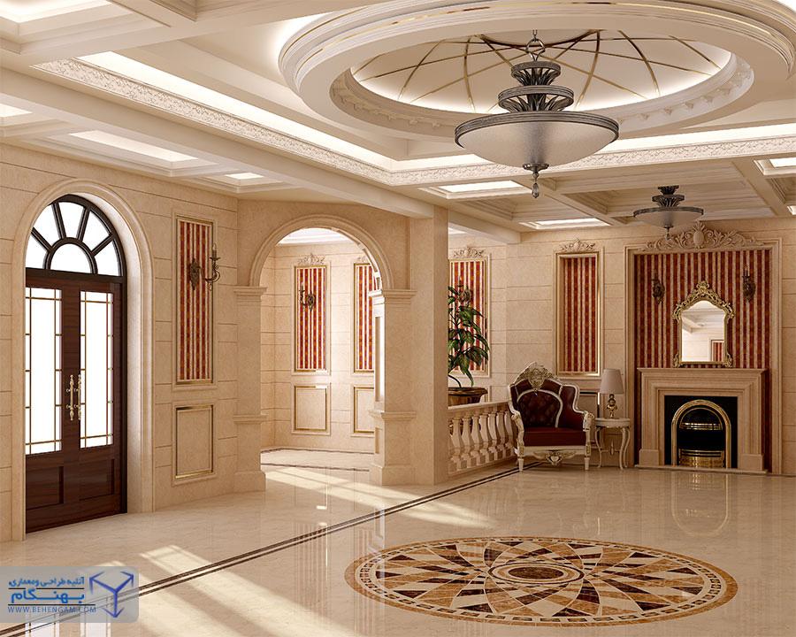 طراحی و دکوراسیون داخلی مسکونی