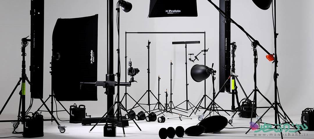 دکوراسیون وطراحی داخلی آتلیه عکاسی