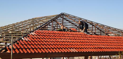 دکوراسیون و طراحی داخلی سقف شیروانی