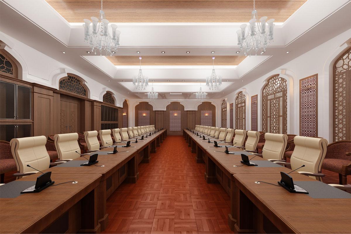 دکوراسیون و طراحی داخلی دکوراسیون داخلی سالن کنفرانس