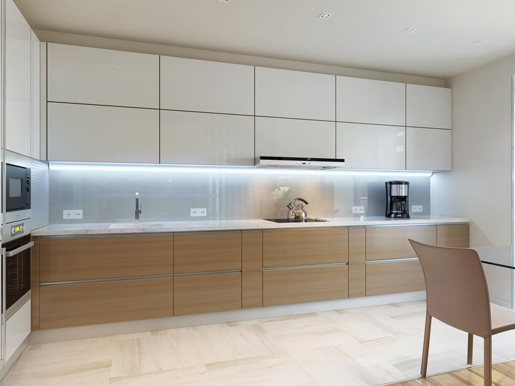 دکوراسیون و طراحی داخلی نورپردای آشپزخانه