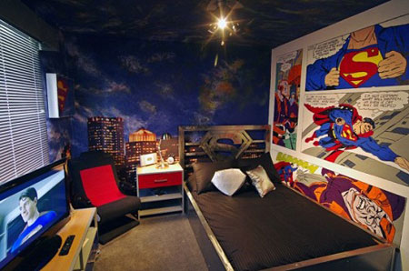 طراحی دکوراسیون اتاق خواب کودک: