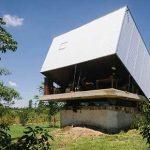 خانه ای با سقف متحرک