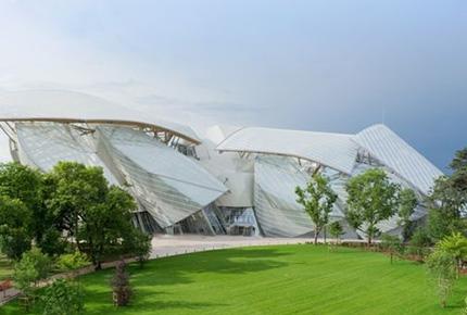 طراحی ساختمان لوئی ویتون