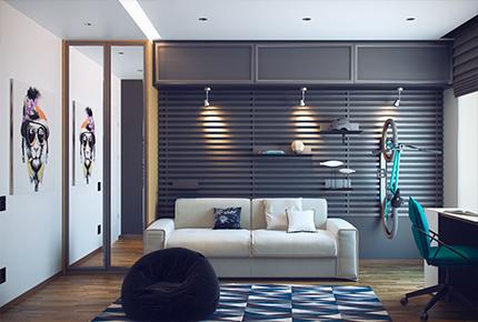 6 نمونه طراحی داخلی و دکوراسیون اتاق نوجوان