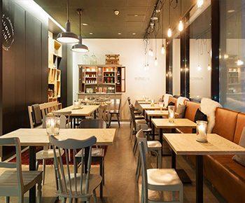 دکوراسیون داخلی رستوران LUDWIG