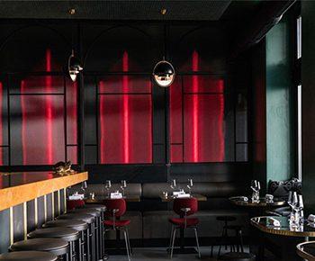 استفاده از رنگ در طراحی داخلی رستوران