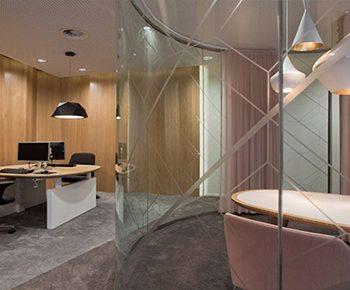 طراحی داخلی شعبه بانک Rabobank هلند