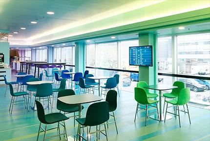 طراحی داخلی لابی فرودگاه