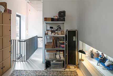 طراحی داخلی و نمای ساختمان مسکونی ۳ طبقه هلند
