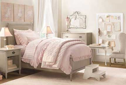 دکوراسیون اتاق خواب دخترانه