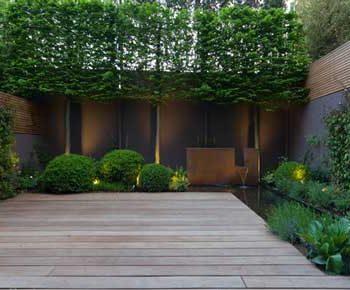 طراحی داخلی حیاط خلوت