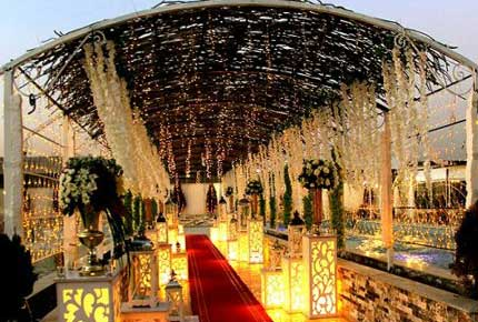 درباره طراحی داخلی تالار عروسی
