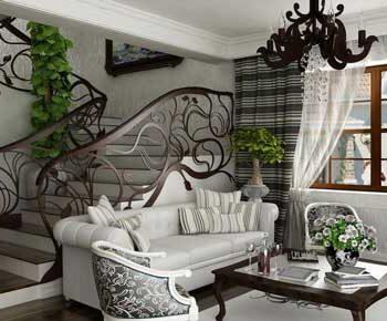 طراحی داخلی سبک آرت نو