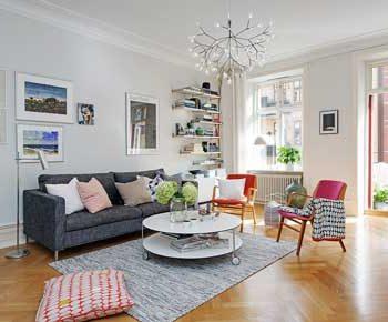 طراحی داخلی سبک سوئدی