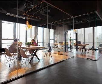طراحی داخلی دفتر معماری