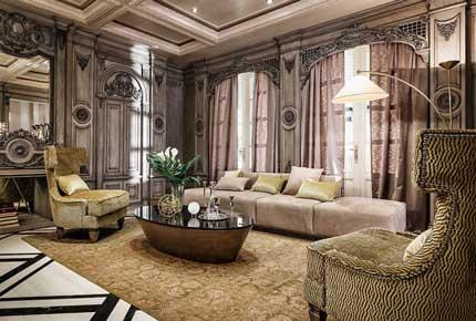 طراحی داخلی سبک فرانسوی