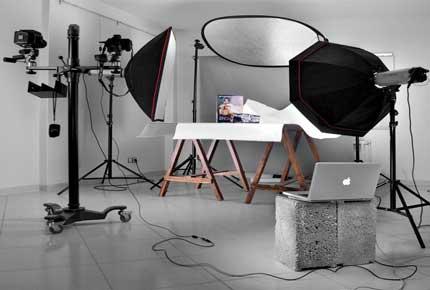 دکوراسیون داخلی آتلیه عکاسی