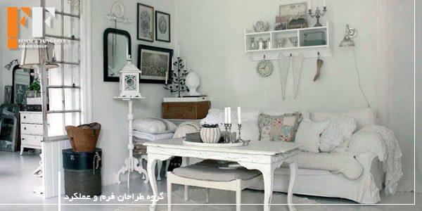 سبک شبی شیک در طراحی داخلی