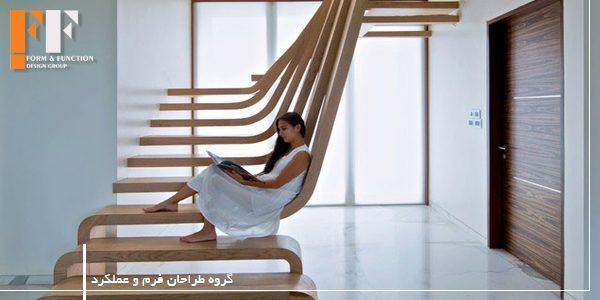 طراحی راه پله های زیبا