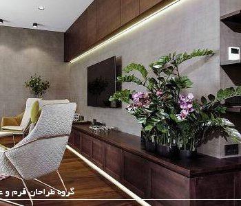 دکوراسیون با گیاهان آپارتمانی