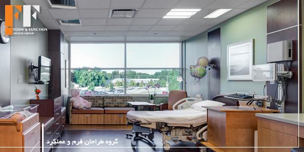 دکوراسیون داخلی بیمارستان