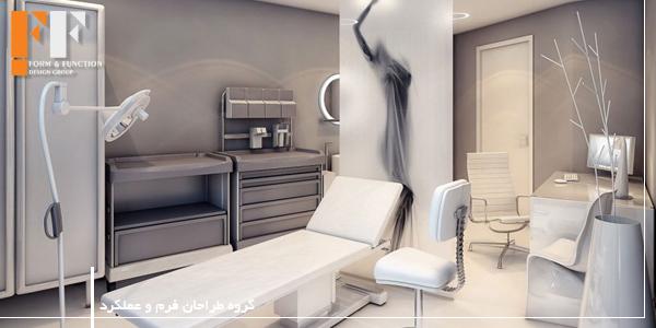 دکوراسیون داخلی مطب پزشک