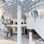 طراحی داخلی انواع مغازه