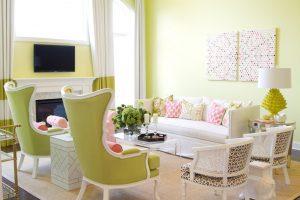 طراحی داخلی در بهار