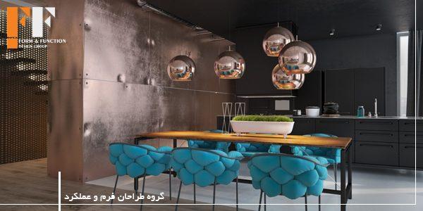 مس در طراحی داخلی