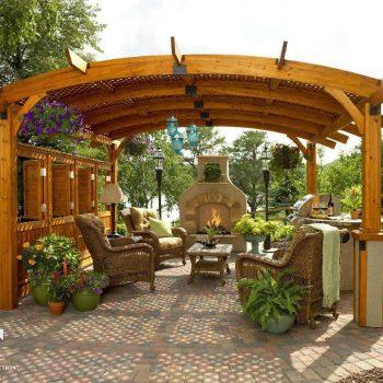 دکوراسیون داخلی باغ