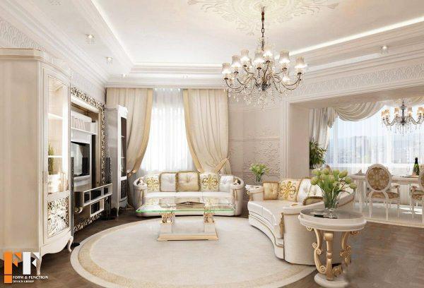 استفاده از لوستر در دکوراسیون داخلی خانه های بزرگ