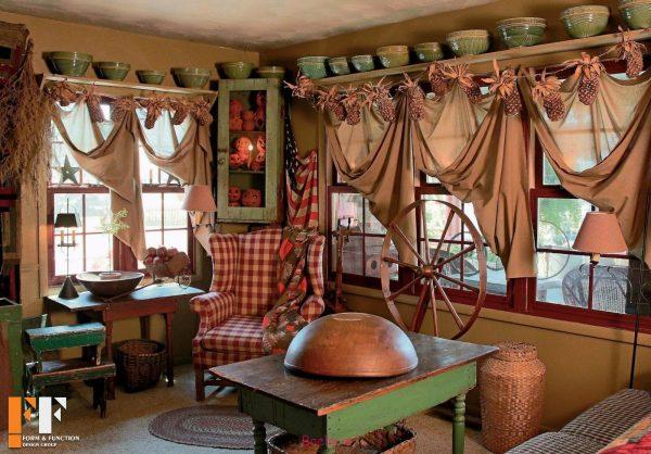 درباره دکوراسیون داخلی خانه های قدیمی