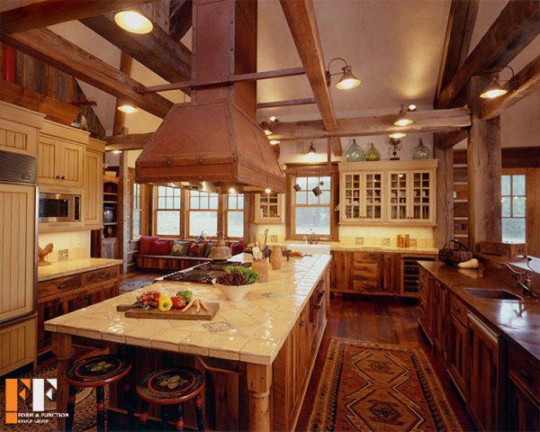 سبک سنتی و غربی در دکوراسیون خانه های قدیمی